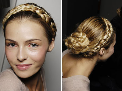 Timoshenko hairstyle in trend