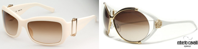 Hottest white sunglasses trend