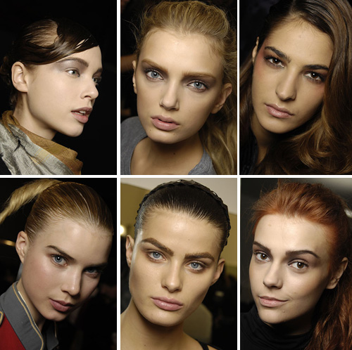 popular eyebrows for fall and winter 2008/2009