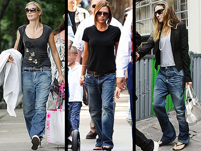 baggy jeans trend for fall winter