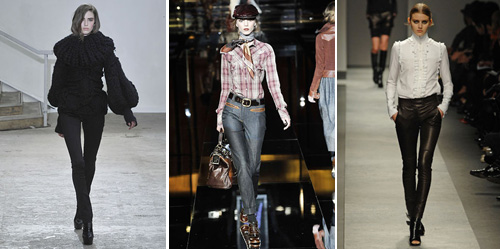 hottest trend for jeans for fall and winter 2008, 2009