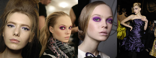 Trends in makeup for Fall and winter
