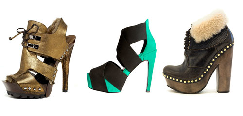 shoes with platform and a heel trend for fall