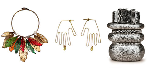 earings, bracelets of the fall collections